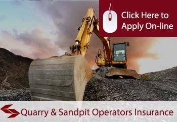 quarry and sand pit operators public liability insurance