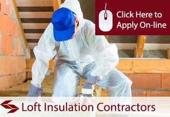 loft insulation contractors public liability insurance